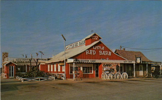 Casey S Little Red Barn On Hiway 80 East We Never Went